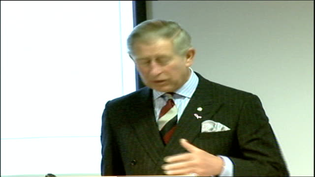 Prince Charles speech / Gordon Brown Social Responsibility Summit speeches Just before I close I want if I may to give one example of the difference...