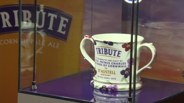 prince charles tours st austell brewery uk cornwall prince charles prince of wale visits st austell brewery cornwall st austell st austell brewery... - st austell stock videos & royalty-free footage