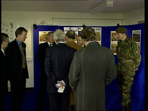 prince charles visits flood victims in york; itn england: yorkshire: york: ext same stretch of riverside now that water has receded river ouse and... - river ouse stock videos & royalty-free footage