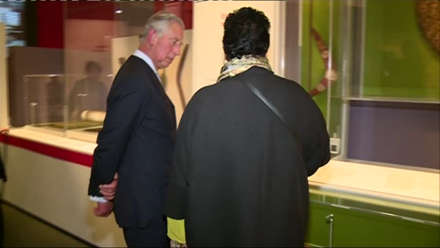 prince charles visits 'indigenous australia: enduring civilisation' exhibition at british museum; england: london: british museum: int prince... - british museum stock videos & royalty-free footage