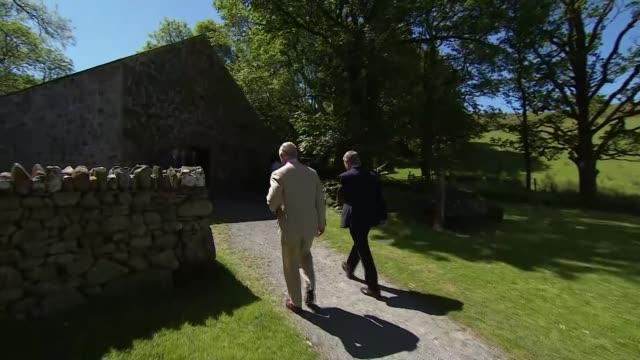 Prince Charles visits Yr Ysgwrn farmhouse in Snowdonia National Park WALES Snowdonia National Park Prince Charles Prince of Wales visits Yr Ysgwrn...