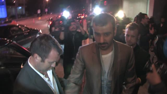Prince Faisal S AlSaud outside Trousdale in West Hollywood at the Celebrity Sightings in Los Angeles at Los Angeles CA