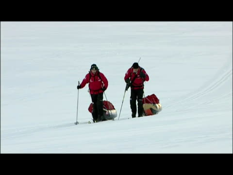 prince harry and arctic expedition team on march 30 2011 in longyearbyen norway - svalbard and jan mayen stock videos & royalty-free footage