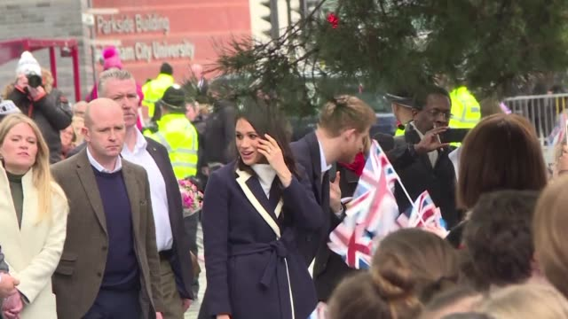 Prince Harry and his fiancee Meghan Markle visit Birmingham on International Women's Day to learn about projects that encourage women to choose...