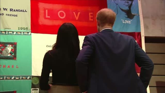 Prince Harry and Meghan Markle attend first official engagements in Nottingham Nottingham Nottingham Contemporary gallery INT Prince Harry and Meghan...