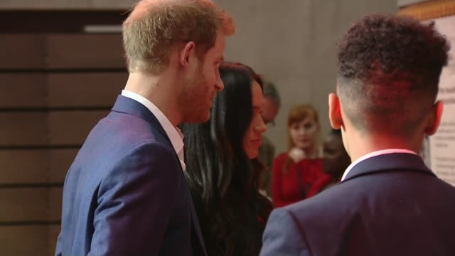 Prince Harry and Meghan Markle attend first official engagements in Nottingham INT Prince Harry and fiancée Meghan Markle visiting Terrence Higgins...