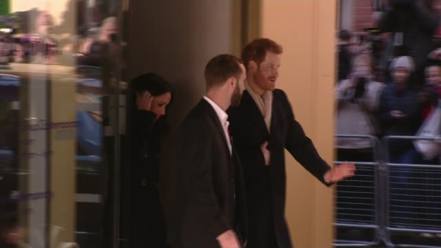 Prince Harry and Meghan Markle attend first official engagements in Nottingham Dr Laura Waters interview SOT Prince Harry and fiancee Meghan Markle...