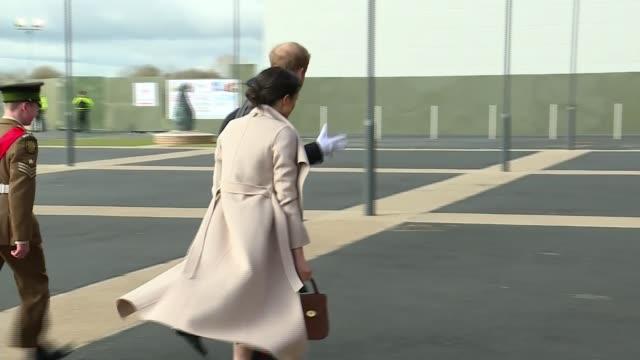 prince harry and meghan markle wedding: handbag designer charlotte elizabeth jones; 23.3.2018 / r230318001 northern ireland: lisburn: eikon centre:... - purse stock videos & royalty-free footage
