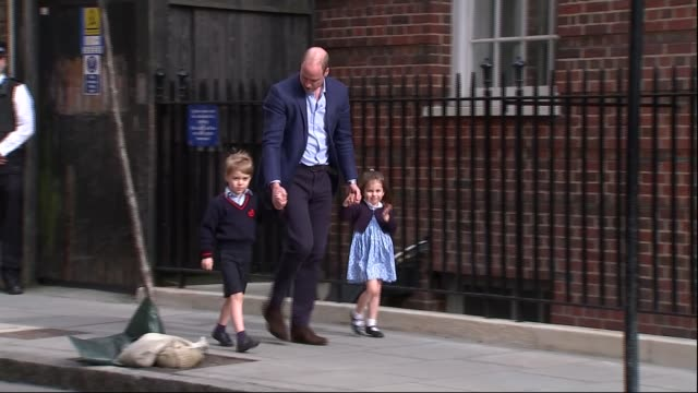 thomas markle unlikely to attend following heart attack rumours lib / 2342018 england london paddington st mary's hospital lindo wing ext prince... - charlotte stock-videos und b-roll-filmmaterial