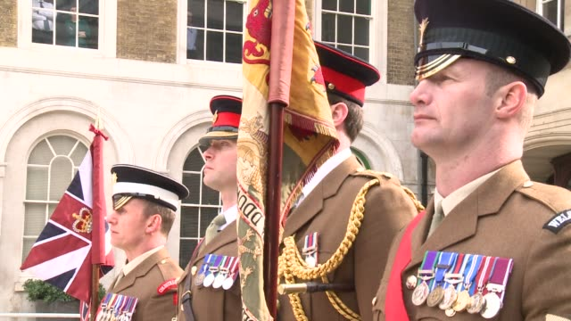 prince harry and prince charles were amongst the royals and high profile political figures attending a ceremony to honour british soldiers who died... - heder bildbanksvideor och videomaterial från bakom kulisserna