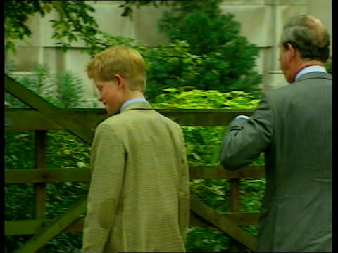 prince harry birthday lib berkshire eton college bv prince harry away towards building with prince charles as arriving at eton - eton berkshire stock videos and b-roll footage