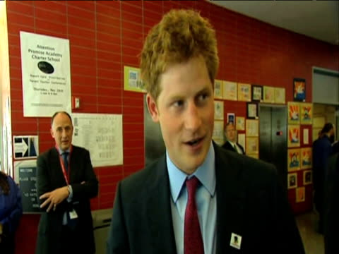 Prince Harry comments on his first official trip to New York 30 May 2009