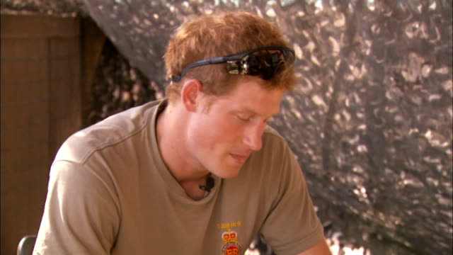 Prince Harry criticises media coverage of his private life AFGHANISTAN Camp Bastion Prince Harry interview SOT It was probably a classic example of...