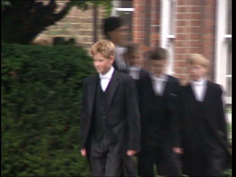 police involvement lib berkshire eton prince harry along in uniform - eton berkshire stock videos and b-roll footage