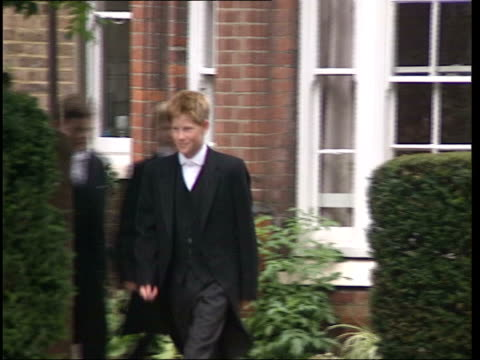police involvement lib england berkshire eton prince harry along in uniform - eton berkshire stock videos and b-roll footage
