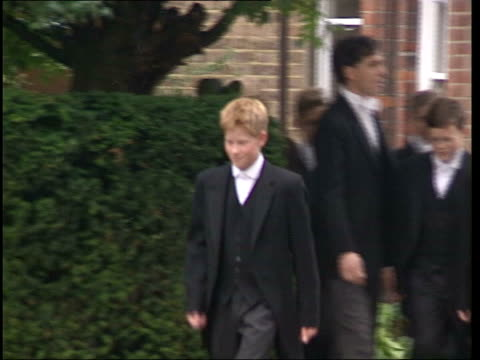 police involvement lib england berkshire eton ext prince harry along in uniform - eton berkshire stock videos and b-roll footage
