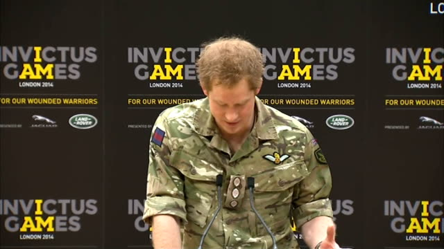 Prince Harry launches Invictus Games for injured soldiers Prince Harry press conference SOT It was such a great concept by the Americans that it had...