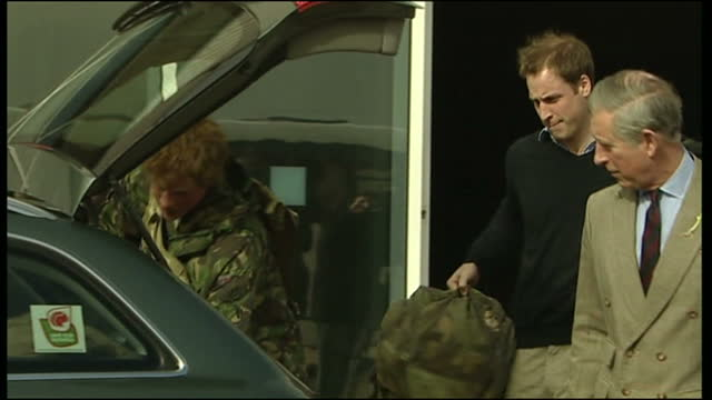 prince harry looks set to go back to combat duty in afghanistan next year after reports this morning that he's been cleared to return to the war... - afghanistan stock videos & royalty-free footage
