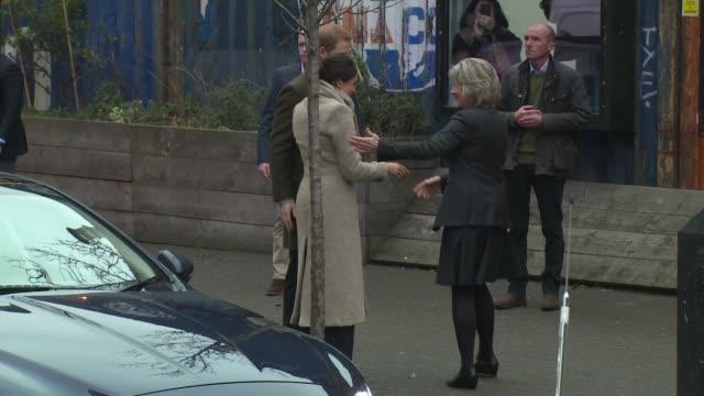 Prince Harry Megan Markle on January 09 2018 in London England
