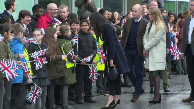 Prince Harry Ms Meghan Markle on March 08 2018 in Birmingham England