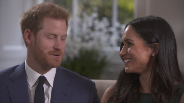 Prince Harry saying he and Meghan Markle 'really got to know each other' on a camping trip in Botswana three weeks after they first met