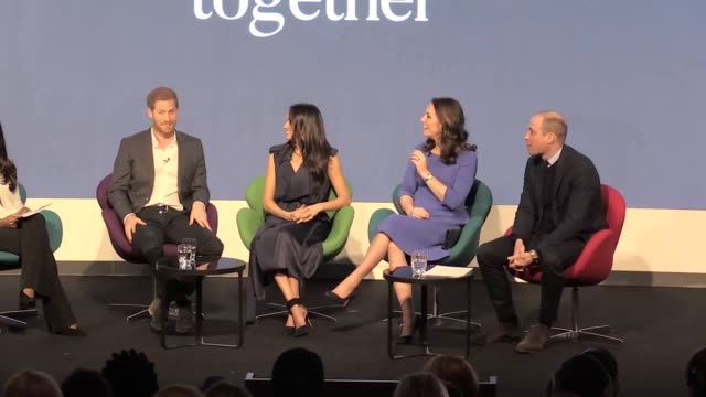 prince harry says plans to create the royal foundation campaign were 'organised on the back of a fag packet' - königshaus stock-videos und b-roll-filmmaterial