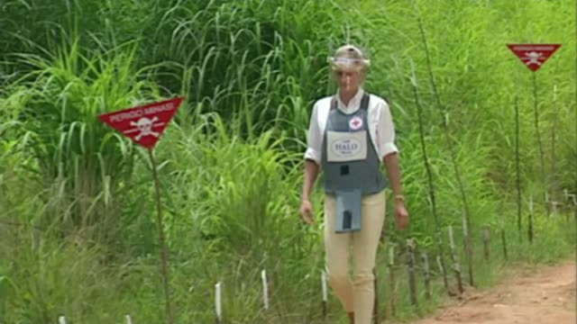 Prince Harry takes up his mother's landmine campaign Prince Harry takes up his mother's landmine campaign LIB/ 1511997 Various of Diana Princess of...