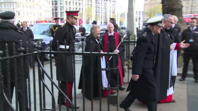 Prince Harry The Duke of Edinburgh at Westminster Abbey on November 10 2016 in London England