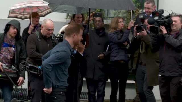 GBR: The Duke of Sussex visits Abbey Road Studios
