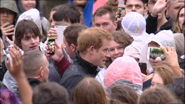 Prince Harry visiting University of Canterbury during royal tour to New Zealand