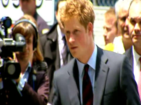 Prince Harry visits Ground Zero during tour of US New York 29 May 2009
