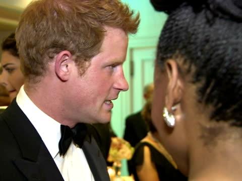 Prince Harry Visits Lesotho on February 27 2013 in Maseru Lesotho