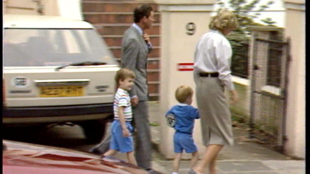 Prince Harry's 30th birthday AS160987015 London Kensington Prince of Wales Diana Princess of Wales Prince William and Prince Harry along to nursery...