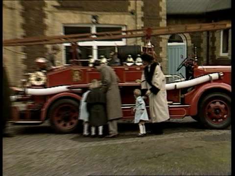 prince harry's hernia tx 3188 itn london bv princess of wales plucks harry from old fire engine and puts him down out as duke of edinburgh amp prince... - hernia stock videos and b-roll footage