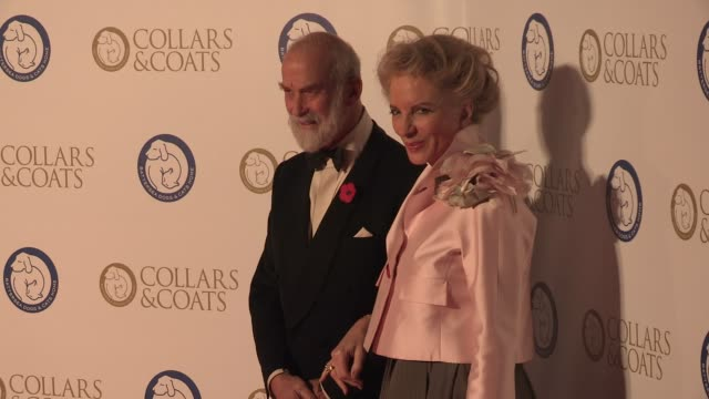 prince michael kent at collars and coats gala ball at battersea evolution on november 07 2013 in london england - kent england stock videos & royalty-free footage
