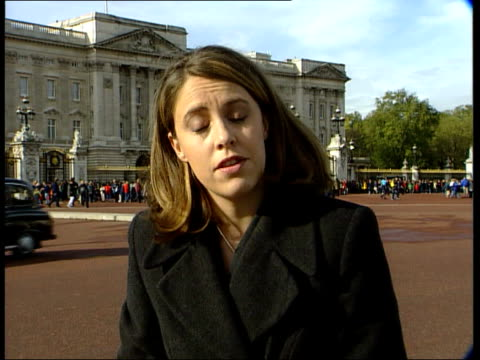 sarah england london buckingham palace ext i/c - biography stock videos & royalty-free footage