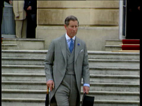 prince of wales biography row; lib slow motion prince charles along - biography stock videos & royalty-free footage