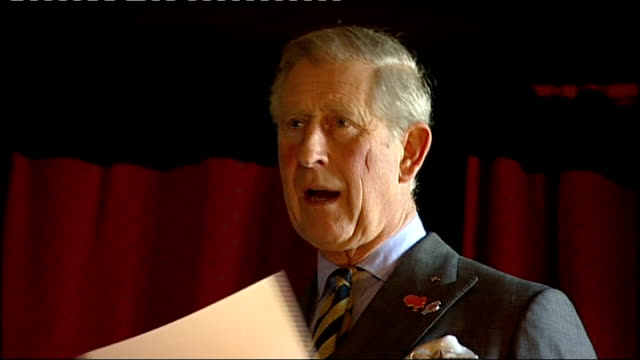 prince of wales launches conservation project to save britain's native red squirrels more of prince charles chatting to guests at hutton in the... - inglewood video stock e b–roll