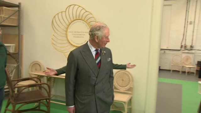 prince of wales visits leicester soane britain workshop; england: leicestershire: leicester: int prince charles, prince of wales signs in book /... - breakfast stock videos & royalty-free footage