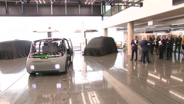 prince of wales visits the national automotive innovation centre england west midlands coventry national automotive innovation centre int prince... - prototype stock videos & royalty-free footage