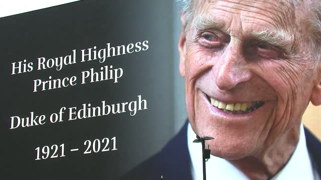 prince philip, duke of edinburgh dies aged 99: tributes paid across the uk / day's events; england: london: piccadilly circus: ext **khan interview... - 1921 stock videos & royalty-free footage