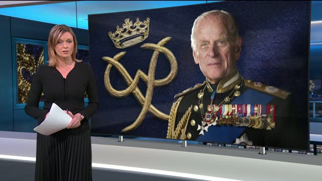 prince philip, duke of edinburgh dies aged 99:itv news special: 'prince philip: fondly remembered': pab19.00 - 20.00; england: london: gir: int... - phillip schofield stock videos & royalty-free footage