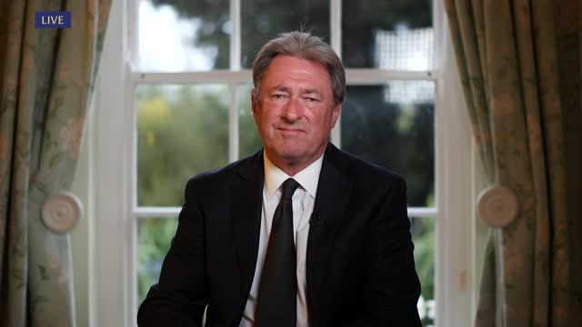 prince philip, duke of edinburgh dies aged 99:itv news special: 'prince philip: fondly remembered': pab19.00 - 20.00; england: london: gir: int... - alan titchmarsh stock videos & royalty-free footage