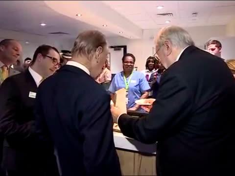 Prince Philip Duke of Edinburgh Opens the Luton and Dunstable University Hospital Cardiac Centre at Luton and Dunstable University Hospital on...