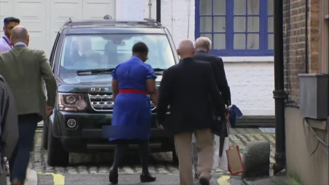 prince philip leaving king edward vii hospital - journey stock videos & royalty-free footage