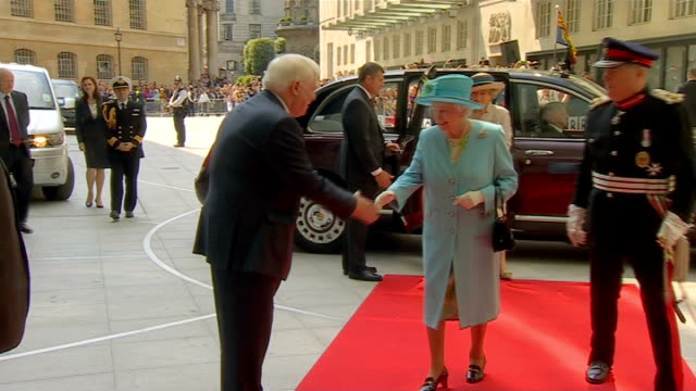 Prince Philip 'progressing satisfactorily' following exploratory surgery ENGLAND London BBC Broadcasting House PHOTOGRAPHY** Queen Elizabeth from...