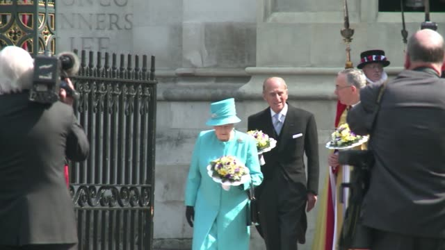 prince philip the husband of britain's queen elizabeth ii turns 90 on friday but will mark the occasion with little fanfare in keeping with his... - greater london stock videos & royalty-free footage