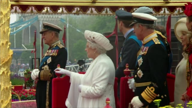 prince philip to step down from public engagements prince philip to step down from public engagements tx london tower bridge ext queen elizabeth... - 2012 stock videos and b-roll footage