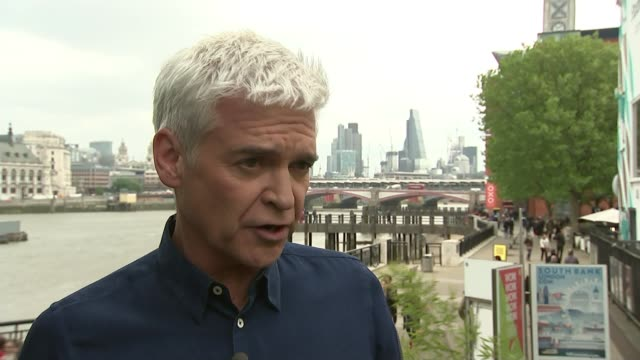 prince philip to step down from public engagements prince philip to step down from public engagements london ext phillip schofield interview sot - phillip schofield stock videos & royalty-free footage