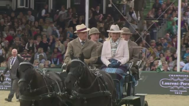 Prince Philip to step down from public engagements Prince Philip to step down from public engagements TX EXT Prince Philip driving a carriage at the...